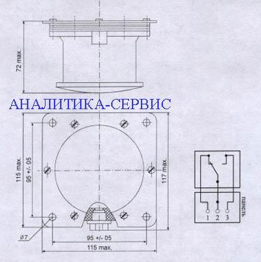 Блок сигнализации уровня БСУ-1